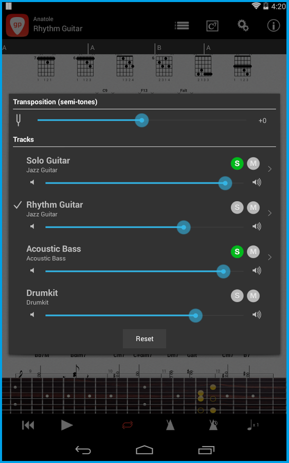 Программа-синтезатор для подбора ритма песни