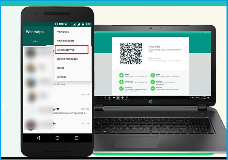 WhatsApp Web — настройка